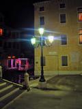 The street lamp of Ca' di Dio...