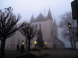 Foggy winter morning...