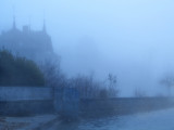 The blue blues of mist...