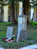 The unpretentious tomb of Mozart's family