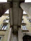 La porte Romaine de la vieille ville
