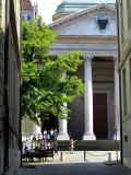 enfilade vers la cathédrale