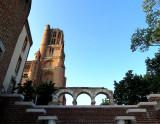 Montée vers la cathédrale d'Albi