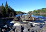 Le barrage de chutes des passes