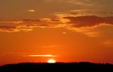 le soleil disparait
