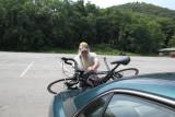 Bike/Triking at Hessian Lake, Bear Mountain State Park, NY