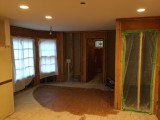 Gutted kitchen - 1