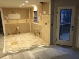 New back door and floor tile starts