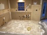 Floor tile starts - 1
