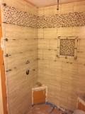 Shower tile in progress - 1