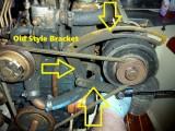 Universal M-18 & M-25 Alternator Bracket Upgrade