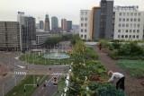 Groenten telen op een Rotterdams kantoordak