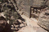Jordan Petra 2013 2259 The Treasury from high.jpg