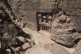 Jordan Petra 2013 2260 The Treasury from high.jpg