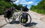 456    Michael touring Belize - GT Nomad touring bike