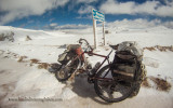 464    Julian touring Kyrgyzstan - Gary Fisher Tassajara touring bike