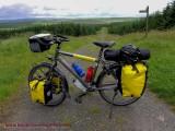 468  Darrell touring England - Santos Travelmaster touring bike