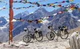 Loaded Touring Bicycles - On Tour