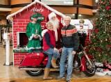 Santa At Harley-Davidson