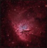 The Pacman nebula RGB