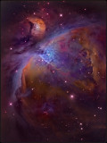The great orion nebula - Hubble color mapped