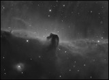 The Horsehead nebula Ha only