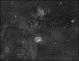 The Coffee bean nebula - Hydrogen Alpha