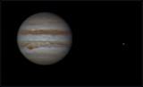 Jupiter and Io 11 may 2016