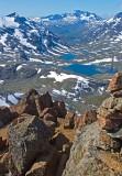 On the top of Kyrkja, Jotunheimen