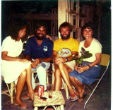 Genie Red Sea Divers Club with Howard, Sharon and Harry