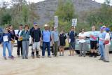 River Water Sampling  - Meeting place