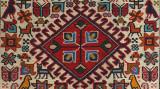 Detail of Kurdish rug