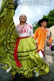 Dancers from Ejutla on Alcala