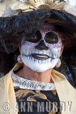 Lady Dressed as Catrina
