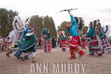 Guadalupana Aztecas dancing away