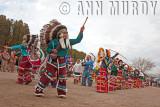 The Guadalupana Aztecas dancing