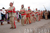 Los Indios dancing in the Procession