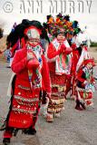 Azteca Chichimecas in Procession