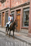 Colonial Policeman on Horse