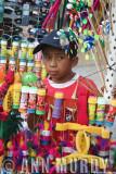 Vendor selling toys