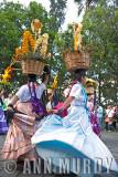 China Oaxqueñas dancing away