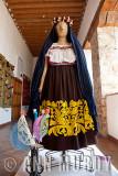 Ceremonial traje from Santa Fe de Laguna, Michoacán (Lago)