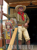 Cowboy with red wild rag