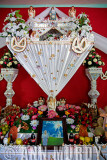 Detail of altar for Aurelia