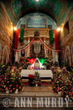 Altar for Our Lady of Guadalupe in Teotitlán del Valle