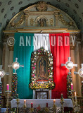 Altar for Our Lady of Guadalupe in Tlacolula