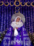 Madre Dolorosa with Papel Picado Dress