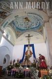 Dramatic Madre Dolorosa Altar