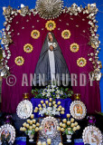Madre Dolorosa Altar with reliquaries