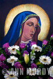 Painting of the Madre Dolorosa